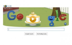 День рождения Google 15 ktn